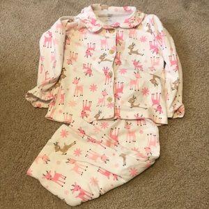 Carter's just one you Christmas Pajamas 4T